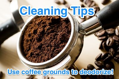 Overland Park House Cleaning Tips: Use Coffee Grounds to Deodorize