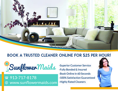New House Cleaning Flyer  Sunflower Maids