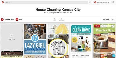 Sunflower Maids is on Pinterest!