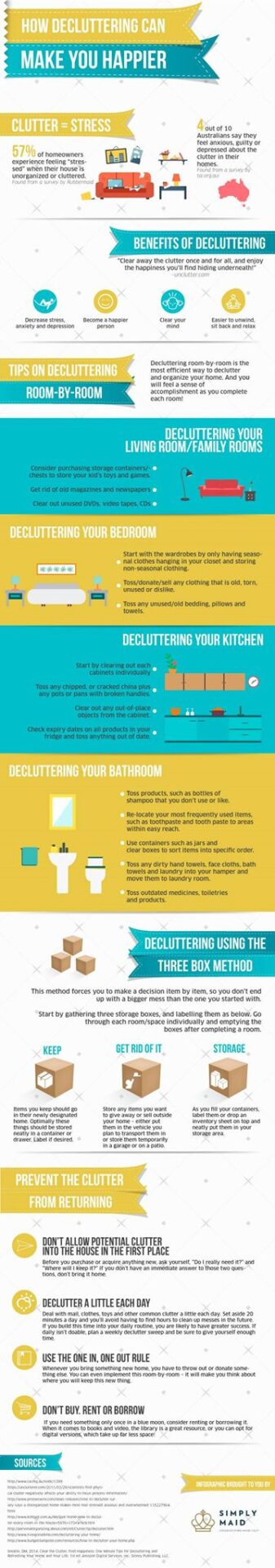 Decluttering Your Home Can Make You Happy
